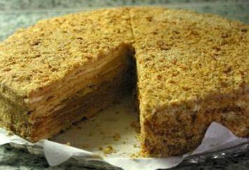 """Wie man einen Kuchen """"Honey Pie"""" mit Vanillepudding machen?"""