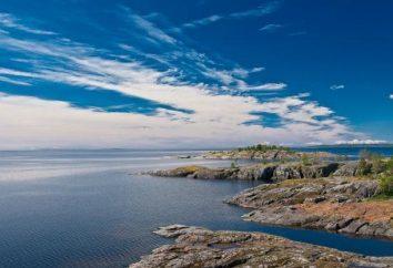 Plus intéressant la carte touristique des profondeurs du lac Ladoga