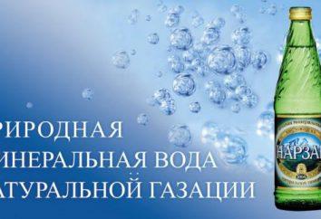 """Woda mineralna """"Narzan"""": Właściwości użyteczne, wskazania i przeciwwskazania dla stosowania"""