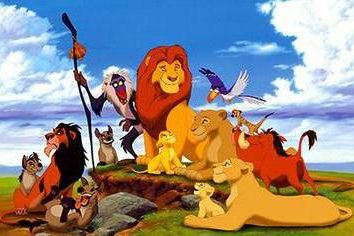"""Przypięty """"The Lion King"""""""