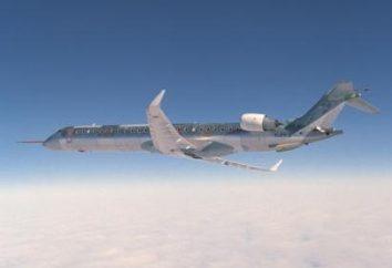 Una serie di aerei di fascia media Canadair Regional Jet