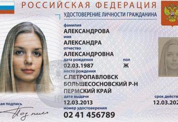 Le nouveau passeport électronique du citoyen de la Fédération de Russie: la réception, le calendrier et les objections