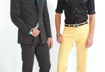pantaloni da uomo per un elegante e potente