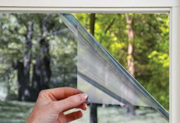 -Térmico refletor filme: descrição, eficiência