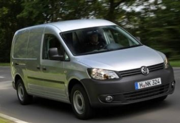 """Volkswagen Caddy Maxi"" – ein kompakter Stadt-Glastransport"