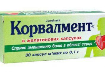 """""""Korvalment"""": instrukcje użytkowania (tabletki). analogi lekarstwo"""