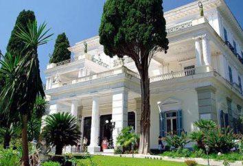 Prächtiges Schloss Achilleion, die die alten Mythen Griechenlands wiederbelebt