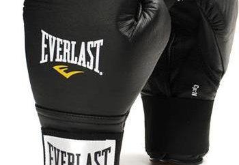 Rękawice bokserskie Everlast – podstawowe typy