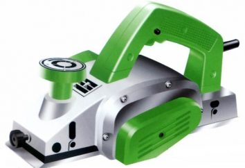 plaina elétrica: o dispositivo de aplicação e