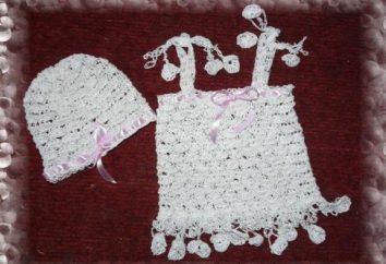 Knitting sukienki dla dziewczynek hakiem – stworzenie luksusowych letniej sukience