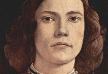 Biographie von Sandro Botticelli. Seine Werke sind bekannt in der ganzen Welt