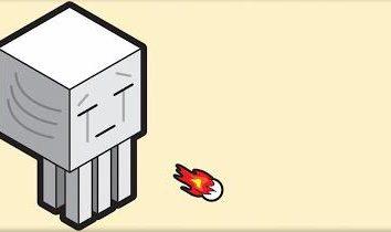 Il lancio palle di fuoco contro i nemici: palla di fuoco in Minecraft