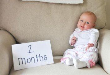 To powinno być w stanie dwóch dziecka? 2 miesiące: opracowanie i psychologia dziecka