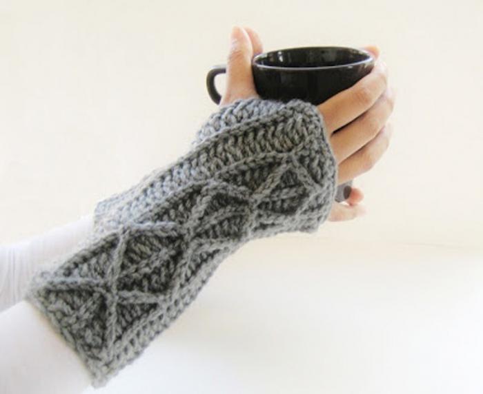guantes sin dedos - ¿qué es esto? Cómo tejer mitones agujas?