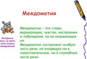 palavras onomatopaicas e interjeições: ortografia, pontuação, exemplos