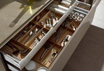 Speichersystem für Küchen. Drahtkorb für Schränke
