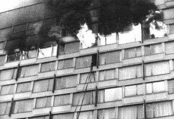"""Fuego en el hotel """"Leningrado"""" 23 de febrero de., 1991 testigo ocular"""