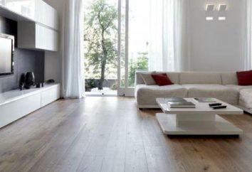 Comment mettre sur un bois linoleum au sol substrat d'alignement. La sélection et les types de linoléum