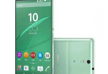 """""""Sony Iksperiya C5 Ultra"""": visión general de las características, opiniones"""
