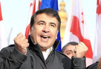 Biografia Saakashvili. datas e acontecimentos de sua vida chave