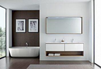 Nowoczesne kąpiel dekoracja: Metody alternatywne