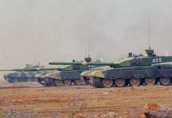 Nowoczesne chińskich czołgów (zdjęcie). Najlepsze chińskie czołgi