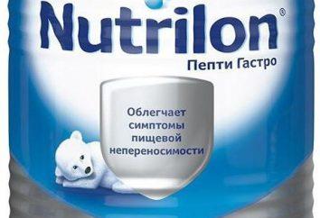 """fórmula infantil """"Nutrilon Pepto Gastro"""": comentários de médicos, descrição e composição"""