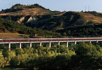 Trem Milão – Roma: o tempo de viagem, o custo dos bilhetes. Como chegar de Milão para Roma