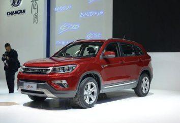Apresentação do novo chinês SUV Changan CS75