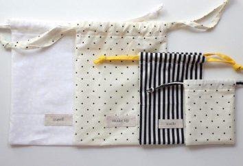Jak uszyć torebkę z ciągów? Torby na prezenty i ziół z rękami