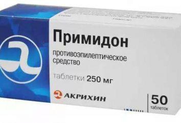 """Medicine """"Primidon"""": Gebrauchsanweisungen und Feedback"""