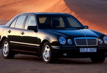 Voiture Mercedes W210: spécifications, description et critiques. Examen de la voiture Mercedes-Benz W210