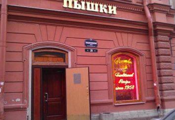 Pyshechnaya na Bolshaya Konyushennaya Petersburgu