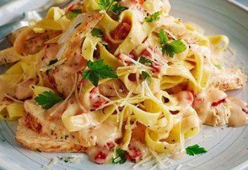 Frango em receitas gourmet italiano