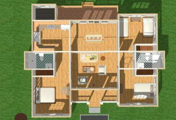 Disposizione di abitazioni private. Piano casa 6-8, 6-9, 6-10, 5-6