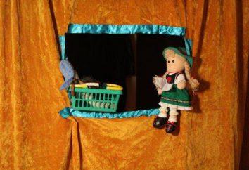 Jak sprawić, by teatr lalek z rękami w przedszkolu iw domu