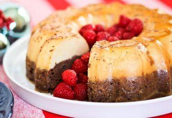Flan czekolady przepis, zdjęcia, zalety w stosunku do innych deserów