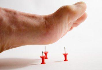 Ból w stopie podczas wstępnej: przyczyny i leczenie
