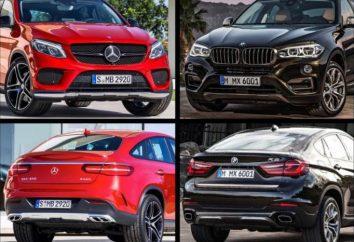 « Mercedes », similaire à la BMW X6: la nouveauté la plus attendue de l'industrie automobile allemande