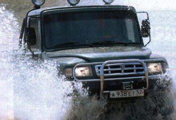 """SUV """"Ataman"""" GAZ-2308: przegląd, specyfikacje i opinie"""