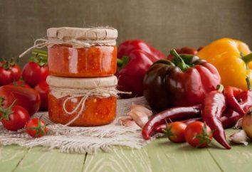 Adjika con Antonovka: ingredienti, ricetta