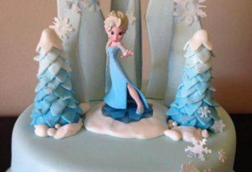 Para quem gosta de Elsa: um bolo para o feriado