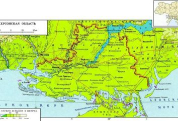 Ucraina, Kherson regione: mappa, le zone. Vacanze in francese