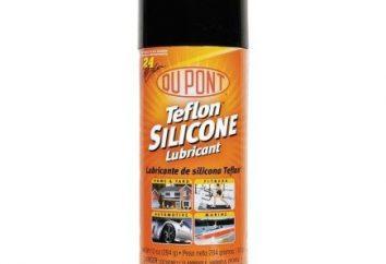 lubrifiant silicone pour les voitures: les avis, les prix, l'application