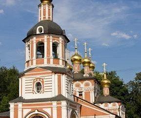 W kościele Narodzenia Pańskiego w Izmailovo