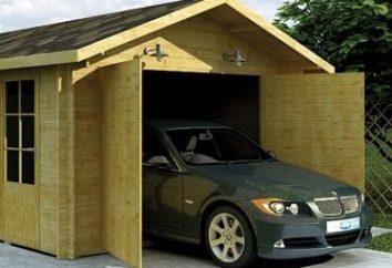Le choix de la taille garage conformément à la volonté et / ou la possibilité de