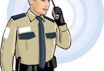 4 strażnik rozładowania. Pytania badania kwalifikujące do prywatnych ochroniarzy 4 cyfry