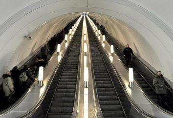 La plus profonde station de métro. où elle
