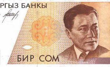 Kirgistan Waluta: opis i historia