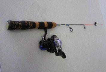 varas de pesca de Inverno – contrapartes em miniatura de verão